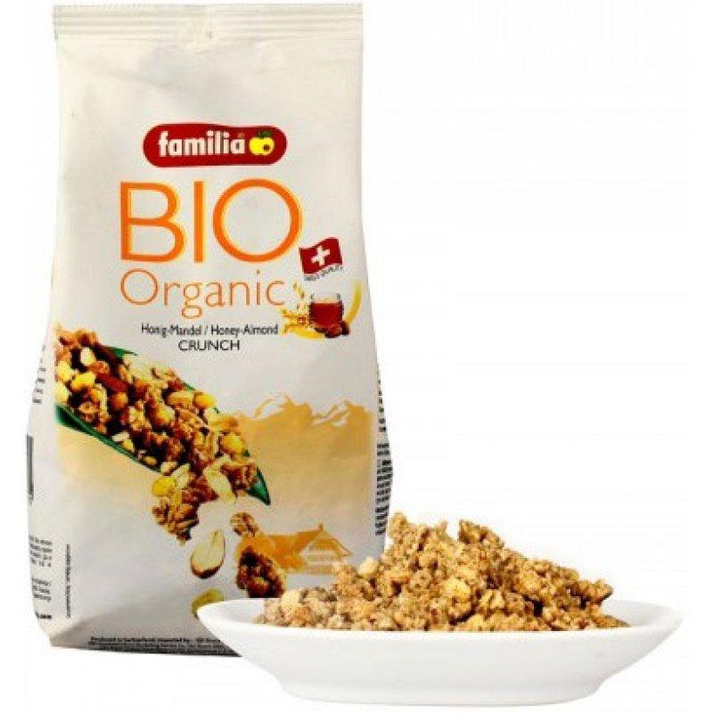 Familia Bio Organik Ballı-Bademli Gevrek 375 gr