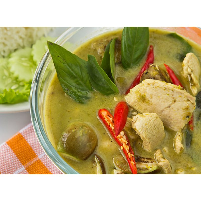 Aroy-D Yeşil Köri Ezmesi (Green Curry Paste) 400 gr